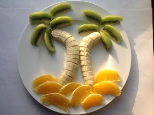 2 Obst-Palmen